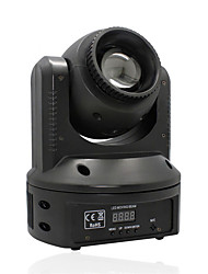 u'king® 50w 9 / 11CH movendo fase luz cabeça 8 padrões de 8 efeitos de controle de voz DMX para salões de dança KTV festa em casa