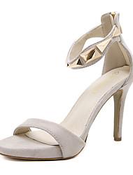 sandales chaussures de club d'été partie bride à la cheville polaire de mariage&robe de soirée talon aiguille à glissière marche