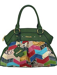 Women Bags All Seasons Cowhide Tote with for Casual Jade Emerald Green