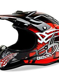 beon mx-16 moto motocross casque abs moto hors route vélo anti-buée anti-uv sécurité casque mode unisexe