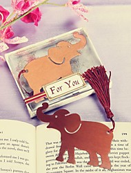 Lucky in Love Elephant Bookmark 9.3 x 7.5 x 1.3cm/box Favor Beter Gifts® Handmade Crafts