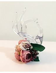 "Wedding Flowers Round Wrist Corsages Wedding Party/ Evening Dried Flower 6.69""(Approx.17cm)"