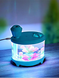charge usb conduit aquarium humidificateur nightlight