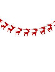 raylinedo® 1 шт красный Гирлянда для свадьбы летию со дня рождения рождественской вечеринки девушки номер формы украшения оленей