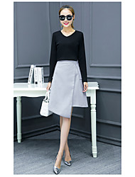 Women's spring 2017 new wave of Korean ladies temperament winter skirt suit two-piece dress