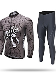 XINTOWN Calça com Camisa para Ciclismo Homens Manga Longa Moto Moletom Camiseta com Fecho Camisa/Roupas Para Esporte Calças Blusas