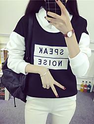 billig echter Schuss gefälschte zwei koreanische lose sprechen Stickerei Bannfarbe und dicken Kaschmir Blusen Pullover Mantel