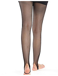 Anti snag candy color and fishnet stockings dance pants socks net pantyhose