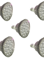 18W E27 LED Grow Lights 18 High Power LED 1620-1800 lm Red Blue AC85-265 V 5 pcs