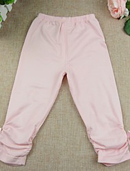 Baby Casual/Daily Solid Leggings,Cotton Spring Fall Pink