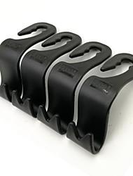 ziqiao voiture suv appui-tête siège arrière des crochets de stockage de suspension (paquet de 4)
