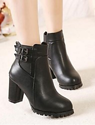 Europe station 2016 autumn new fashion thick with Martin boots comfortable boots leisure wild black tide