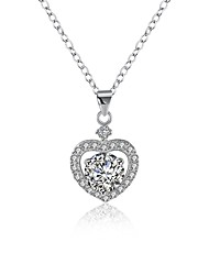 Necklace AAA Cubic Zirconia Pendant Necklaces Chain Necklaces JewelryWedding Party Special Occasion Birthday Engagement Daily Casual