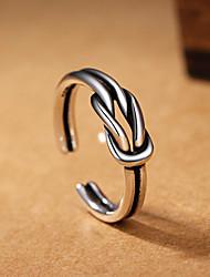Ringe Besondere Anlässe Alltag Normal Schmuck Kupfer Ring 1 Stück,Eine Größe Schwarz