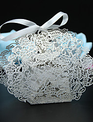50pcs/lots flower wedding box party favors candy box wedding paper box wedding party supplies