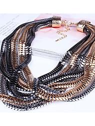 Ensemble de bijoux Bijoux Alliage Original euroaméricains Bijoux de déclaration Mode Personnalisé Bijoux Serpent OrPendentif de collier