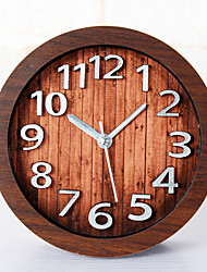Modern/Contemporary Restoring Ancient Ways Of Creativity Houses Wall ClockNovelty Wood Others 12 Indoor Clock