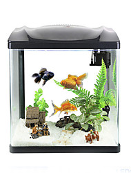 Mini Aquariums Background Energy Saving Noctilucent Plastic