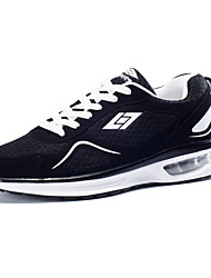 Men's Athletic Shoes Spring Summer Fall Couple Shoes Tulle Athletic Casual Low Heel Split Joint Running