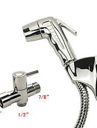 Contemporary Hand Shower Chrome Feature for  Eco-friendly , Shower Head