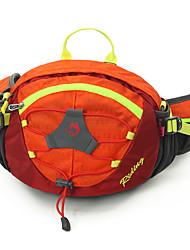 10 L Belt Pouch/Belt Bag Camping & Hiking Climbing Jogging Traveling Running Outdoor Performance Leisure SportsWaterproof Rain-Proof Dust