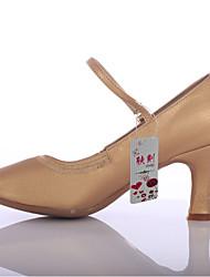 Obyčejné-Dámské-Taneční boty-Latina-Koženka-Na zakázku-Černá Hnědá Červená Bílá Stříbrná