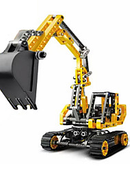 Building Blocks For Gift  Building Blocks Model & Building Toy Excavating Machinery Plastic 5 to 7 Years 8 to 13 Years 14 Years & Up
