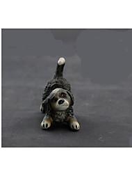 Figurines d'Action & Animaux en Peluche Modèle d'affichage Maquette & Jeu de Construction Jouets Nouveautés Animal Plastique NoirPour
