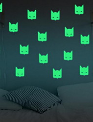 Cartoon Bat Luminous Wall Stickers Vinyl Material Home Decoration