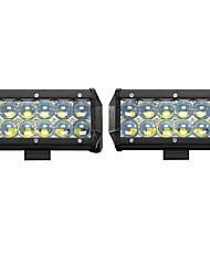2PCS 60W Spot LED Work Light Car Truck Boat Driving Fog Offroad SUV 4WD Bar Foglight LED Work Light  Lamp Tractor Truck SUV ATV Offroad