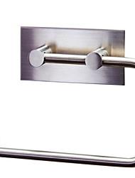 Barre porte-serviette Porte Papier Toilette / BrosséAcier Inoxydable /Contemporain