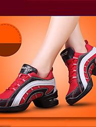 Keine Maßfertigung möglich-Blockabsatz-Baumwolle-Swing Schuhe-Damen