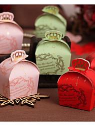 10 Stück / Set Geschenke Halter-Quader Kartonpapier Geschenkboxen Geschenk Schachteln Nicht personalisiert
