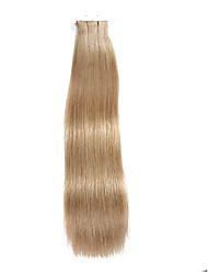 20PCS Tape In Hair Extensions #18 Beige Blonde Dirty Blonde 40g 16Inch 20Inch 100% Human Hair For Women