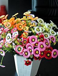 1 Ast Kunststoff Gänseblümchen Tisch-Blumen Künstliche Blumen 20*20*30