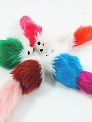 Cat Toy Dog Toy Pet Toys Mouse Toy Mouse Plush White