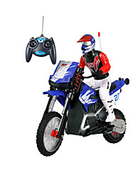 Motorcycle JJRC 1:16 Gas RC Car FM Blue Ready-To-Go Remote Control Car