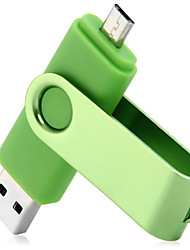 2 in 1 64gb OTG USB 2.0-Flash-Laufwerk für Laptop / Smartphone / pc / mac / Notebook usw.