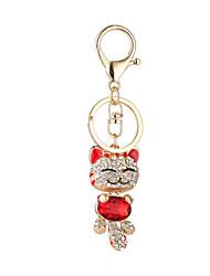 Key Chain Key Chain Toys Chic & Modern Creative Leisure Hobby Red Metal