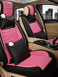 assento de carro senhora de seda de linho almofada bonito almofada dos desenhos animados de um conjunto de cerca de cinco