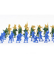 Tue so als ob du spielst Model & Building Toy Spielzeuge Neuartige Plastik Grün Blau Gelb