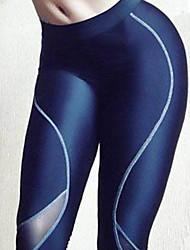 Women Cross - spliced Legging,Polyester