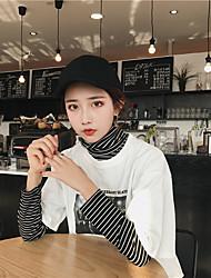 signer la base du paragraphe korean l'impression de caractères de la personnalité sauvage t-shirt loose au début du printemps nett
