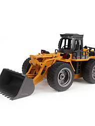 HUINA 1520 114 2.4G 6CH RC Simulation Alloy Truck Construction Toy