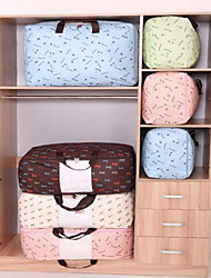 Storage Boxes Storage Bags Storage Units Textile withFeature is Lidded  For Cloth Quilts Thickened Oxford Cloth Bag Random Color