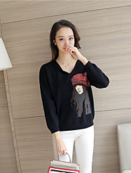 Sign # 4109 2016 autumn and winter new women hooded sweater sweaters