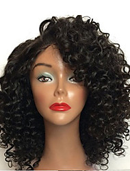 HOT Selling Short Brazilian Virgin Hair Full Lace Wigs Human Hair Wigs With Baby Hair 8-26 Curly Full Lace Wigs