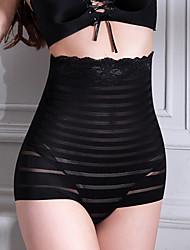 여성제품 몸매 보정 팬티,줄무늬 나일론 섹시
