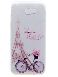 For Samsung Galaxy A7(2017) A5(2017) TPU Material Bicycle Pattern Painted Phone Case A3(2017) A510 A310