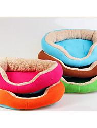 Dog Bed Pet Blankets Portable Soft Random Color Plush